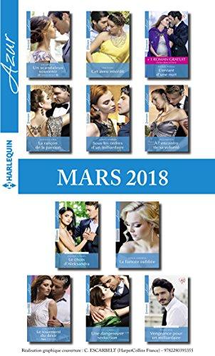 11 romans Azur + 1 gratuit (n3927  3937 - Mars 2018)