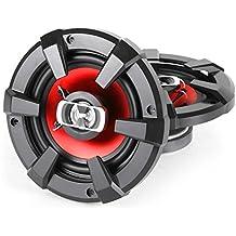 Auna CS-Red-4 - Pack de altavoces para coche, 400 W