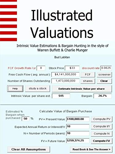 ns + Intrinsic Value Estimations & Bargain Hunting in the style of Warren Buffett and Charlie Munger ()