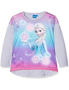 Disney Frozen - Il regno di ghiaccio Ragazze Maglietta maniche lunghe - grigio