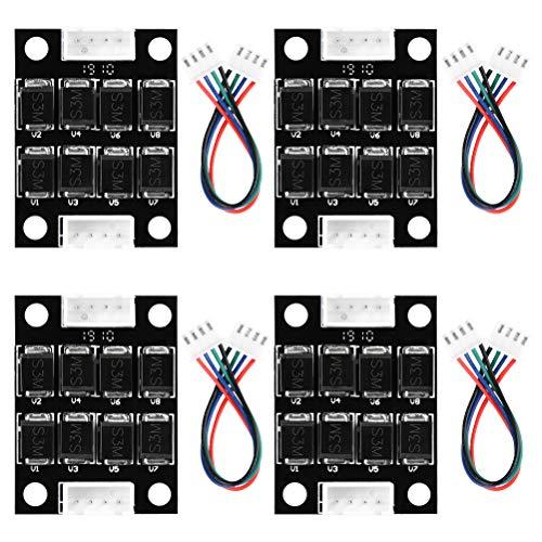 YOTINO DRV8825 Stepper Treiber TL Smoother Filtermodul zur Mustereliminierung Motor Clipping Filter(4 Paar)