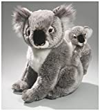 Carl Dick Koala Bär mit Baby aus Plüsch ca. 36cm 3367