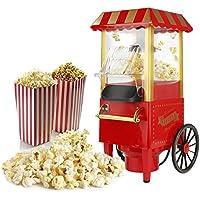 Máquina de palomitas,para fiestas en casa y / o la acogedora noche de cine, Retro Rojo
