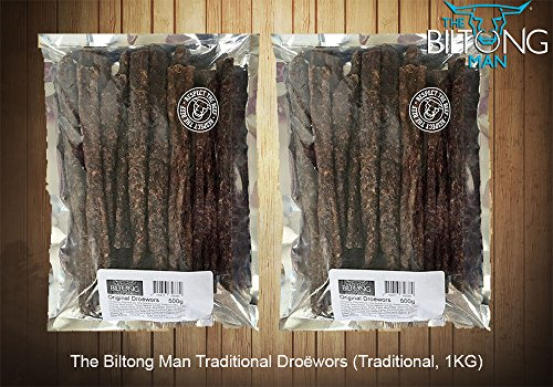 The Biltong Man Traditionelle Droëwors (Traditionelle, 1Kg)