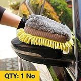 Adoniz Multi-Function 3 in 1 Waterproof Car Wash Gloves Car Cleaning Wax Detailing