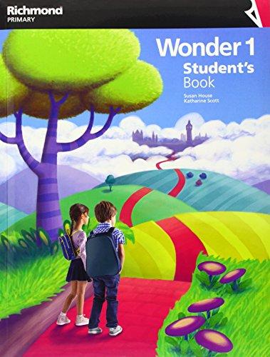 WONDER 1 STUDENT'S BOOK - 9788466817189 por Aa.Vv.