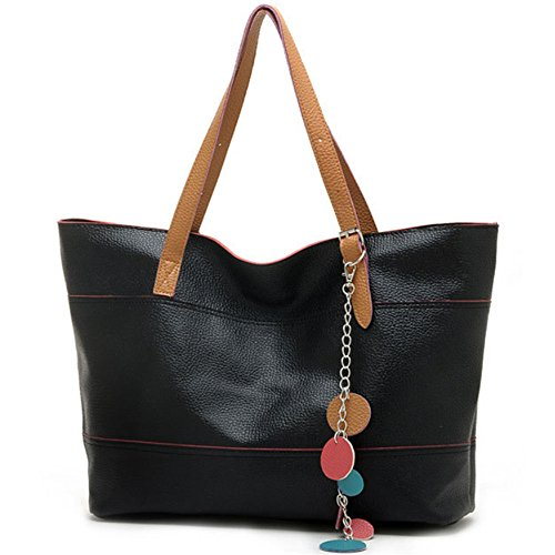 fashion-womens-pu-leather-handbag-purse-satchel-tote-shoulder-bag-black