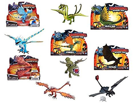 Figurine Dragon Articule - Spinmaster - 0318030 - Figurine Animation -