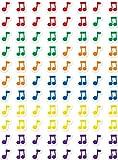 Creative Teaching Press CTP7162 Notes de musique de Hot Spots Autocollants