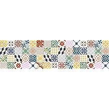 viniliko Tappeto, vinile, Multicolore, 66x 250x 3cm