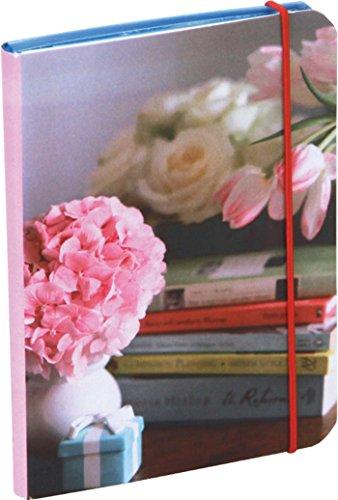 Pretty Pastel Flowers Mini Flexi Notebook: Books