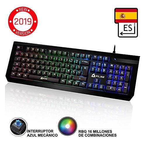 KLIM Domination Teclado Mecánico RGB ESPAÑOL