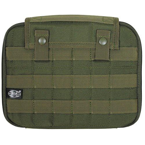 MFH Gepolsterte Tablet Tasche Molle PC Tasche Computertasche 25 x 20 cm Schultasche Outdoor Tasche Camping viele Farben OLIV