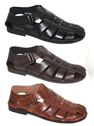 By Neki , Herren Sandalen schwarz schwarz Hautfarben