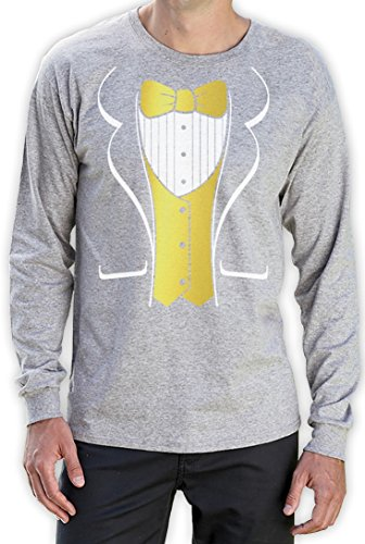 or Costume Party Bachelor Carnival Theater Langarm T-Shirt XX-Large Grau (Carnival Dress Up Ideen)