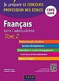 Image de Français - Ecrit / admissibilité - Professeur des écoles - T.2 - CR