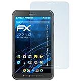 atFolix Displayschutzfolie für Samsung Galaxy Tab Active 8.0 (SM-T365) Schutzfolie - 2 x FX-Clear kristallklare Folie