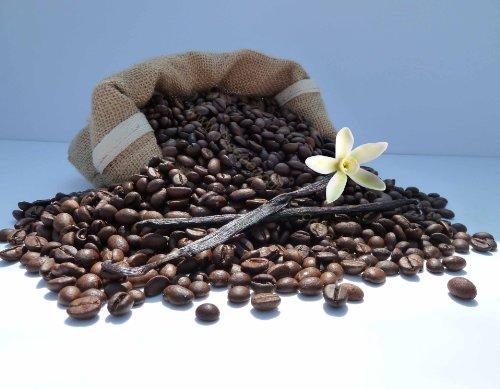 Kaffee mit dem Aroma der französischen Vanille, Bohnen, 200g - Vanille-bohnen