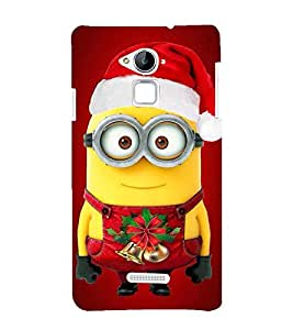 Vizagbeats santa minion Back Case Cover for Coolpad Note 3 Lite