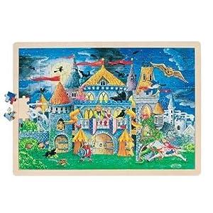 Goki-57949 maderaPuzzles de maderaGOKICuentos de Hadas, Puzzle, (4013594579490)
