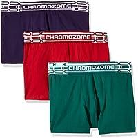 Chromozome Men's Cotton Boxer (Pack of 3) (8902733347242_CR2_Rdgrnplum_S)