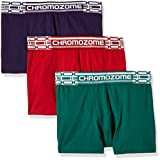 Chromozome Men's Cotton Boxer (Pack of 3...