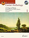 Romantic Guitar Anthology: 33 Originalwerke. Vol. 1. Gitarre. Ausgabe mit CD.: 33 Original Works (Schott Anthology Series)