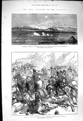 Krieg 1877 Balkans Dzuranli Eski Sagra Leuchtenberg Pferd