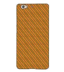 Fuson Designer Back Case Cover for Gionee S6 (Yellow designer pattern theme)