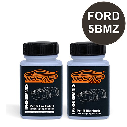 Preisvergleich Produktbild Lackstift Set FORD 5BMZ MIDNIGHT SKY P. / MIDNIGHT SKY GRAU P. ab 2011 - Autolack & Klarlack - je 50 ml