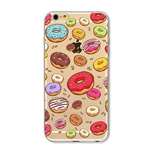 Schutzhülle iPhone 7Schutzhülle étui-case transparent Liquid Crystal TPU Silikon klar, Schutz Ultra Slim Premium, Schutzhülle Prime für Iphone 7-beignet und der Eis 5