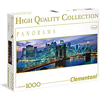 Clementoni 39209 - Puzzle New York Brooklyn Bridge, 1000 Pezzi