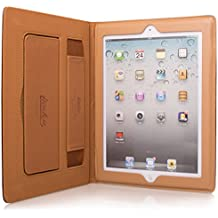 New Style Apple Ipad 4 Case, Soft PU Leather Smart Case Cover For Apple iPad 4