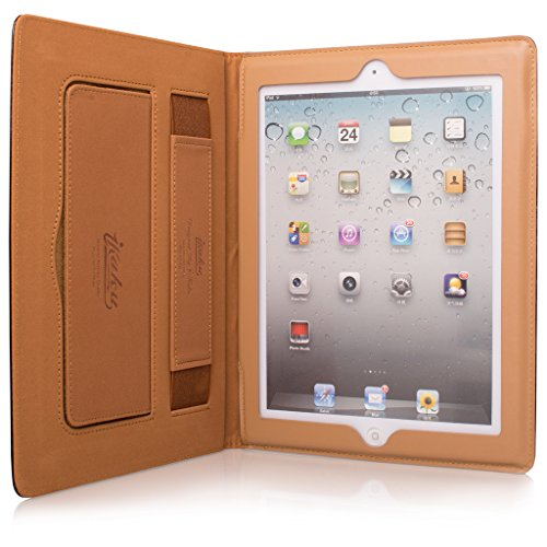 Price comparison product image Apple iPad 2 Case,  Soft PU Leather Smart Case Cover For iPad2 / 3 / 4 Model 2011-2012 A1395,  A1416,  A1403,  A1430,  A1458, A1459,  A1460