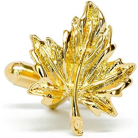 Oh Canada gemelli d'oro Maple Leaf A072