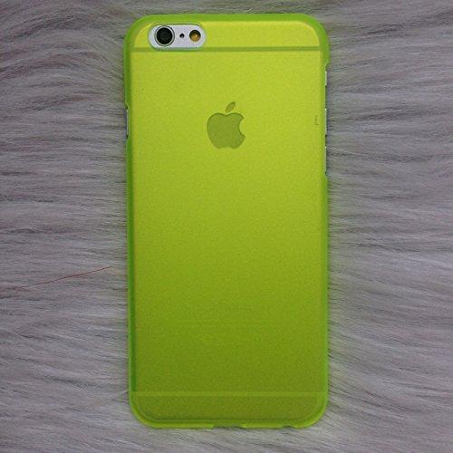Coque iPhone 6 Plus/6s Plus , iNenk® Créatrice de mode téléphone Shell marée Etui PC couverture mince dépoli Potective manche mode matière housse mignon-vert Rose