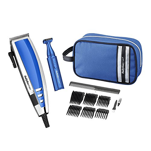 BaByliss 7448CGU Pro Mains Hair Clipper Detail Trimmer Gift Set Kit - 51grhOeJSEL - BaByliss 7448CGU Pro Mains Hair Clipper Detail Trimmer Gift Set Kit