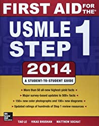 First Aid for the USMLE Step 1 2014 2014 by Tao Le (2014-02-01)