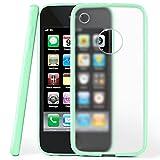 moex iPhone 3GS | Hülle Slim Transparent Mint-Grün Impact Back-Cover Dünn Schutzhülle Silikon Handy-Hülle für iPhone 3G/3 GS Case TPU Tasche Matt