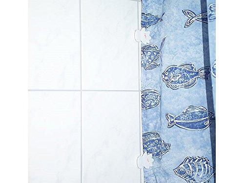 Formschöne Duschvorhangclips Clip Duschvorhang Duschvorhangklammern 2 Stück - 2