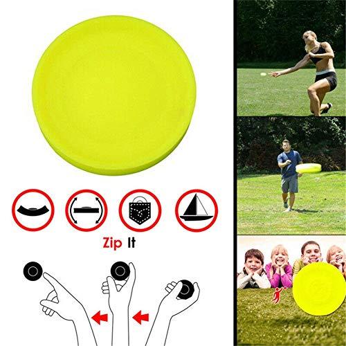 WMX Zip Chip Mini Frisbee Flexible Pocket Flexible Soft Spin im Fangspiel Flying Disc , Outdoor-Haustier für Kinder (1pcs)