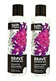 Faith In Nature Brave Botanicals Lavender & Jasmine Shampoo & Conditioner Duo 250ml