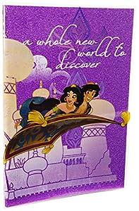 Sambro 1 Aladdin - Cuaderno con Purpurina
