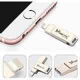 USB Stick pour iPhone Clé 16GO ATIMESPAL iPhone Mémoire avec Connecteur Lightning (16GB)