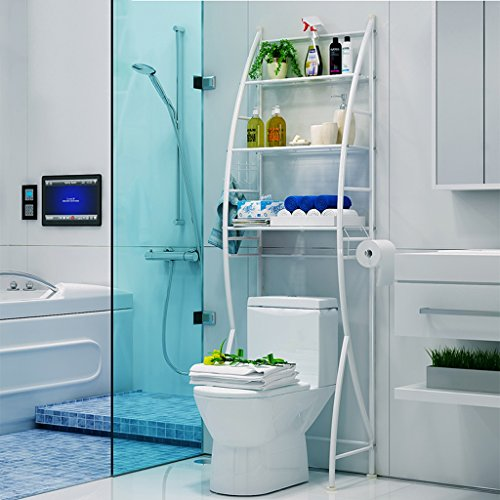 Fu Man Li Trading Company Badezimmer Badezimmer Toilette WC Racks Finishing Racks Boden Waschmaschine Regal Regal A+ -