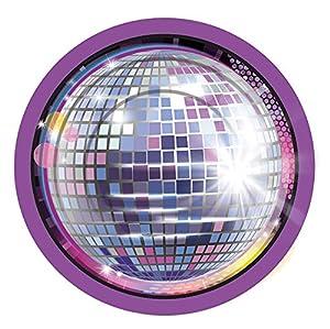 Forum Novelties X77971 - Platos pequeños de discoteca, multicolor, talla única