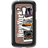 Modelabs Made In France Coque auto cicatrisante en silicone pour Samsung Galaxy S3 Mini Motif NYC