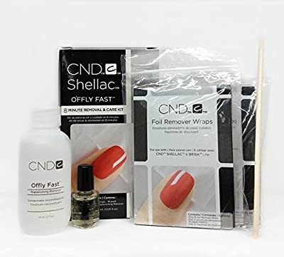 CND Offly Fast Gel Polish 8 Minute Removal & Care Kit