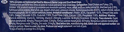 Eukanuba Senior Large Breed Trockenfutter (für ältere Hunde großer Hunderassen ab 7 Jahre, Premiumfutter mit Huhn), 15 kg Beutel - 2