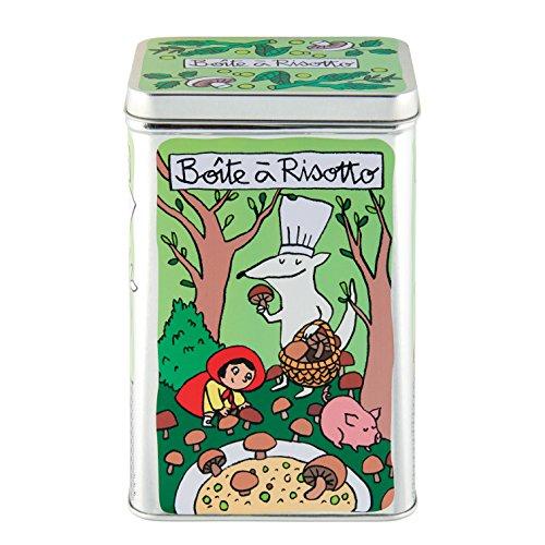 Boite à Riz pour Risotto Champignons - Derrière la porte